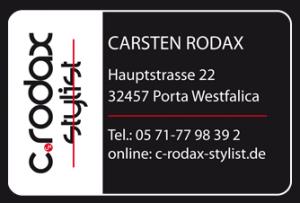 Carsten Rodax Visitenkarte