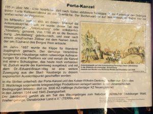 Porta Kanzel Historie